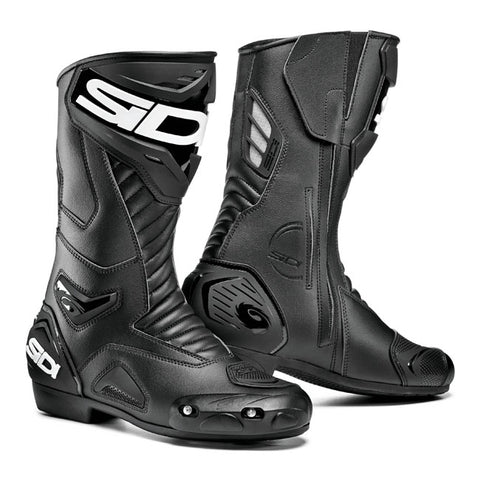 Sidi Performer Motorcycle Boots - Black/Black
