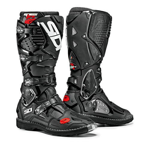 Sidi Crossfire 3 Motorcycle Boots - Black/Black