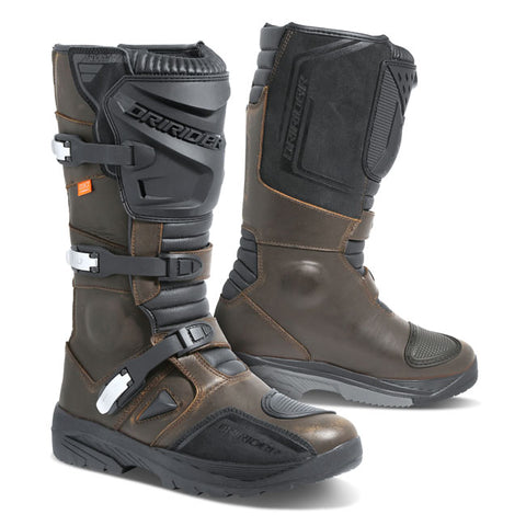 Dririder Adventure C1 Motorcycle Boots - Brown