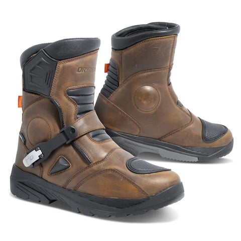Dririder Adventure C2 Motorcycle Boots - Brown