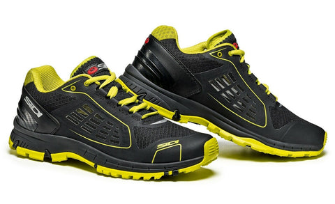 Sidi Approach Causal Shoes - Black/Lime