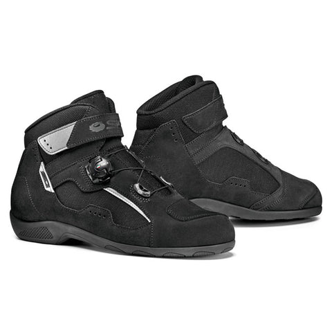 Sidi Duna Special Motorcycle Boots - Black/Black