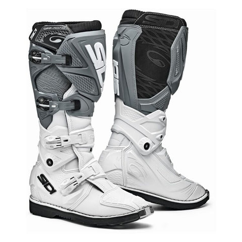 Sidi X-3 Lei Women's Motorcycle Boots - White/White/Grey
