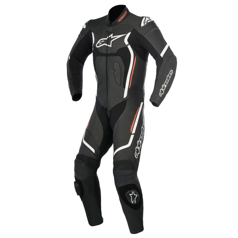 Alpinestars Mens Motegi v2 Leather Suit - Black/White/Red