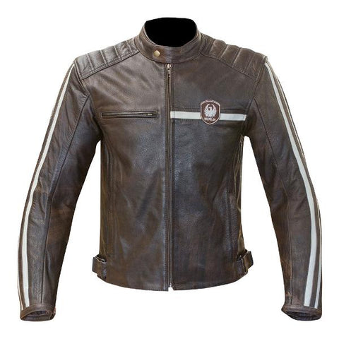Merlin Derrington Leather Jacket - Brown