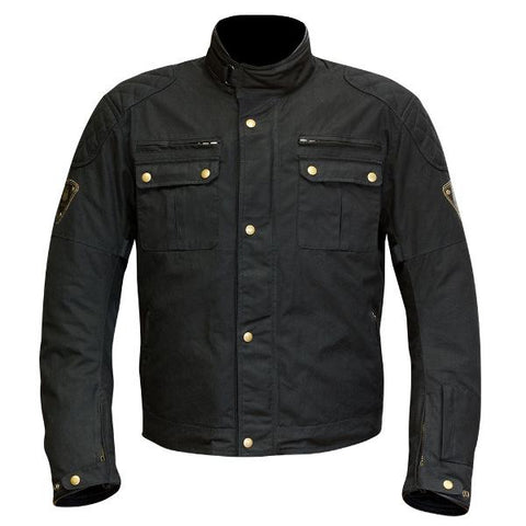 Merlin Sandon Textile Jacket – Black