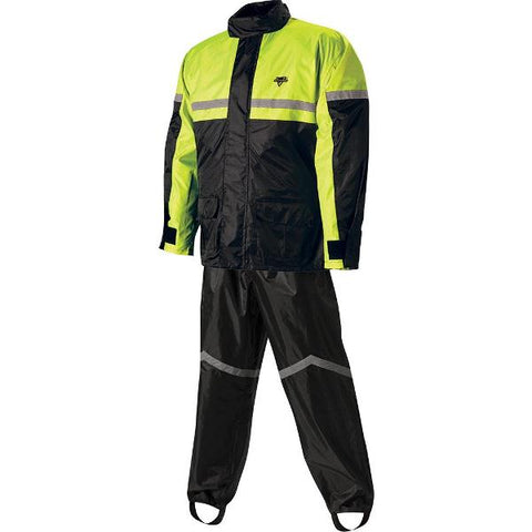 Nelson-Rigg Stormrider Rainsuit SR-6000 2 piece Hi-Vis - Black/Yellow