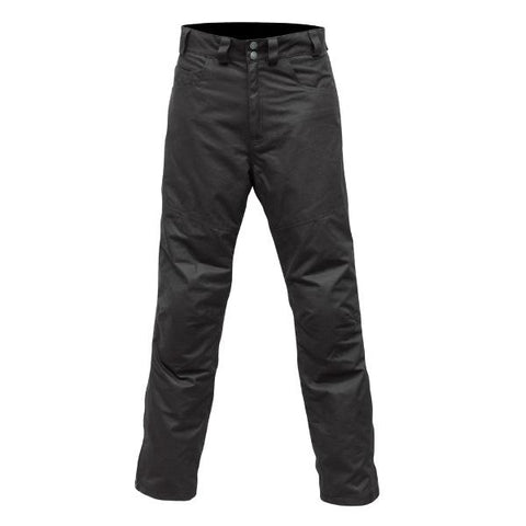 Merlin Hulme Wax Cotton Tourer Jeans-Black
