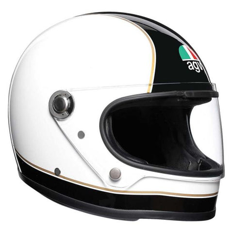 AGV X3000 Super Black/White Helmet