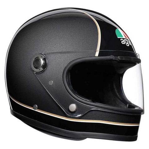 AGV X3000 Super Gloss Black/Grey/Yellow Helmet