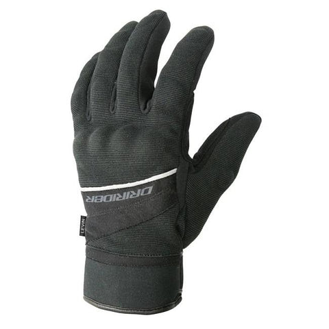 Dririder Levin Men's Motorcycle Gloves - Black