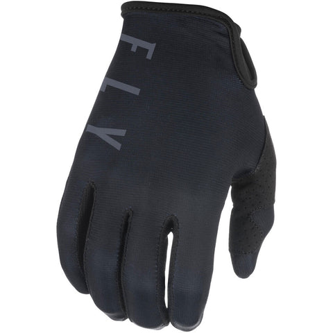 Fly Racing Lite 2021 Motorcycle Gloves -  Black/Grey