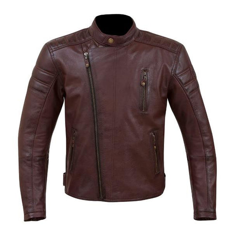 Merlin Lichfield Leather Jacket – Oxblood