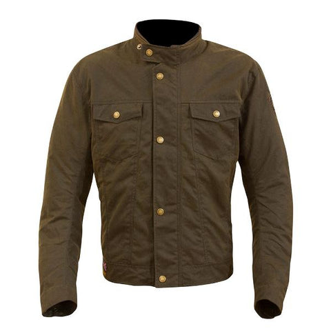 Merlin Anson Textile Jacket – Brown