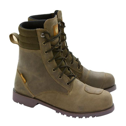 Merlin Drax Boots – Brown
