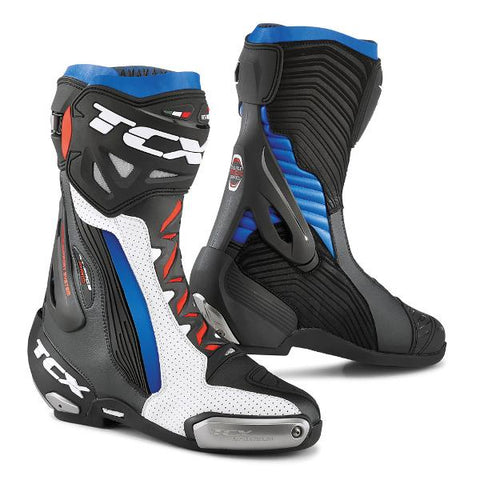 TCX RT Race Pro Air Boots– White/Black/Blue