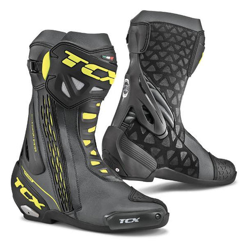 TCX RT Race Boots– Black/Yellow