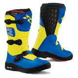 TCX Comp Youth Boots– Blue/Yellow