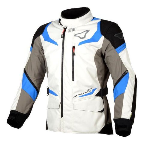 Macna Sektor Jacket – Ivory/Grey/Blue