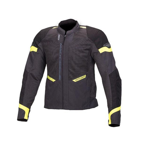 Macna Event Mesh Jacket – Black/Grey/Fluro