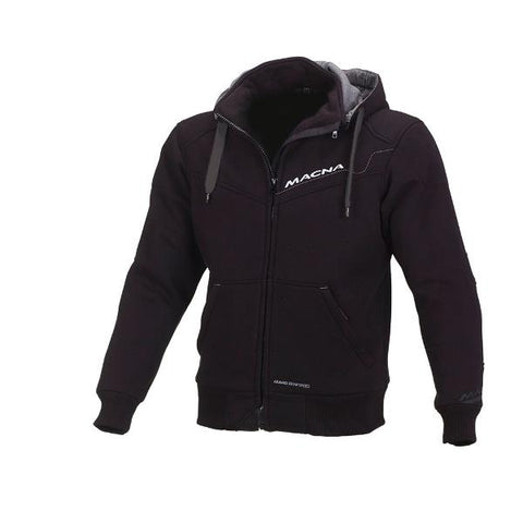 Macna Freeride Hoody Cotton Kevlar Jacket –  Black