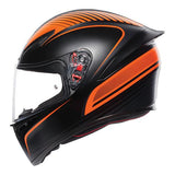 AGV K1 Warmup Full Face Helmet - Black/Orange