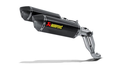 Akrapovic Triumph Speed Triple 1050 (11-15) Slip-On System S-T10SO1-HRC