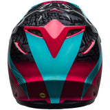 Bell 2019 Moto-9 Chief MIPS Helmet -  Pink/Black/Blue