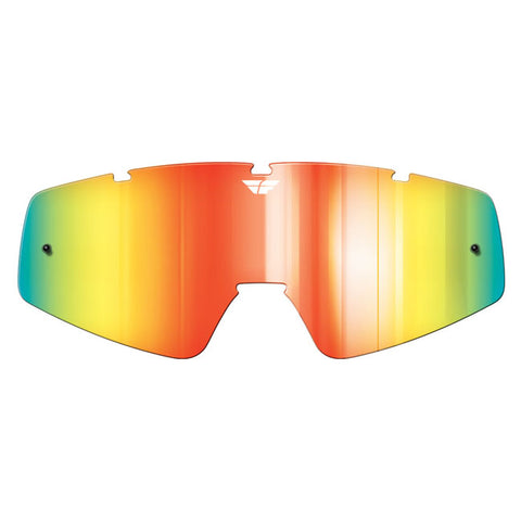 Fly Racing Zone/Focus Goggle Replacement Lens - Fire Mirror