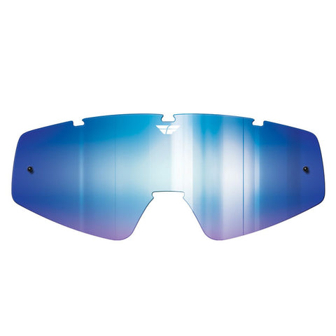 Fly Racing Zone/Focus Goggle Replacement Lens - Blue Mirror