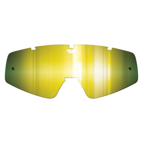 Fly Racing Zone/Focus Youth Goggle Replacement Lens - Gold Mirror