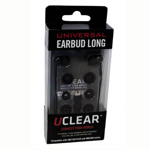 UClear Uea-L Long Universal Earbuds For HBC100 Plus HBC200 Series