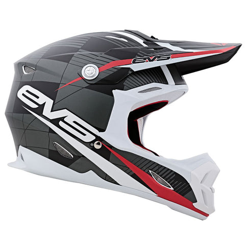 EVS T7 Crossfade Motorcycle Helmet - Black