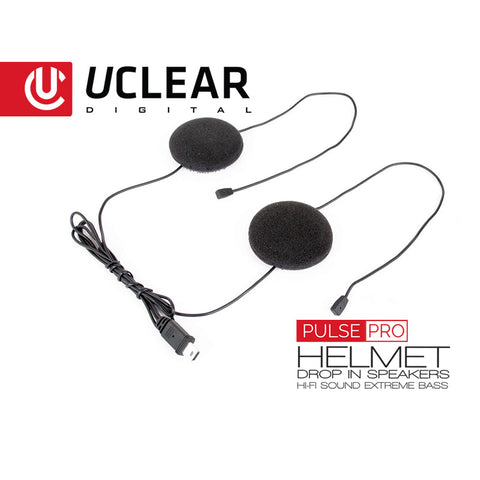 UClear Pulse Pro – Upgraded Helmet Speakers for Digital Audio Systems