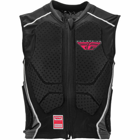 Fly Racing Barricade Zip Vest Armour - Black