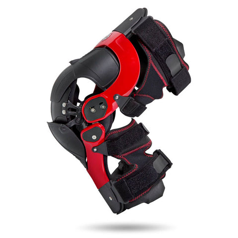 Asterisk Ultra Cell 2.0 Motorcycle Knee Braces Pair - Red