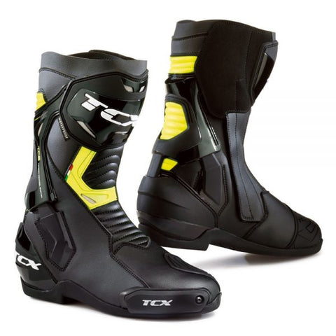TCX ST- Fighter Waterproof Boots– Black/Yellow