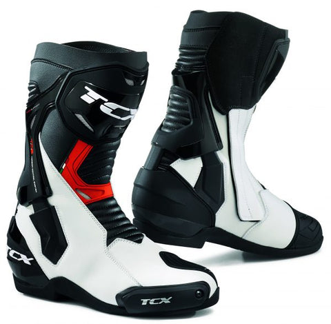 TCX ST- Fighter Boots– White/Black