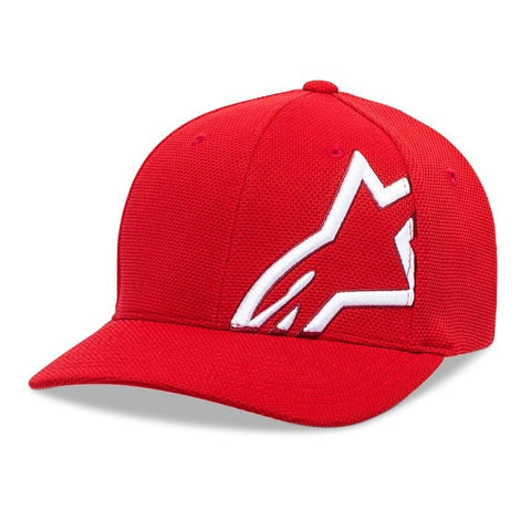 Alpinestars Corp Shift Mock Mesh Motorcycle Hat - Red/White