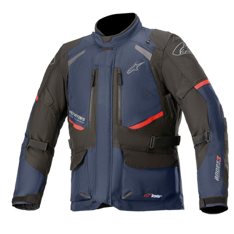 Alpinestars Andes V3 Waterproof Motorcycle Jacket - Blue/Black