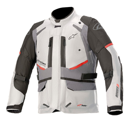 Alpinestars Andes V3 Waterproof Motorcycle Jacket - Grey
