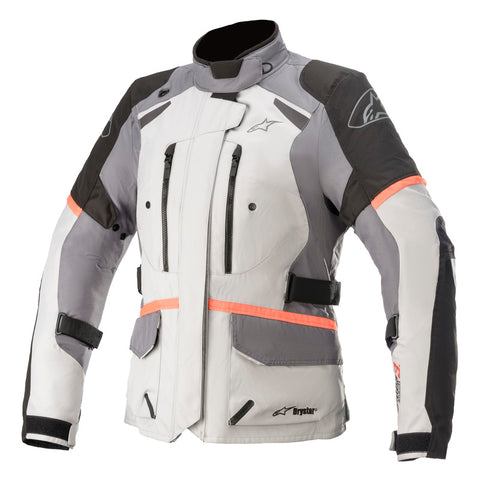 Alpinestars Andes V3 Waterproof Women's Motorcycle Jacket - Grey