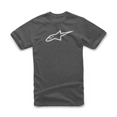 Alpinestars Ageless Classic Motorcycle Tee - Charcoal/Heather/White