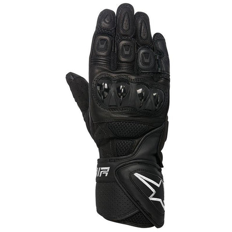 Alpinestars Mens SP-Air Vented Leather Gloves - Black