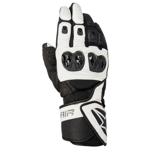 Alpinerstars Mens SP-Air Vented Leather Gloves - Black/White