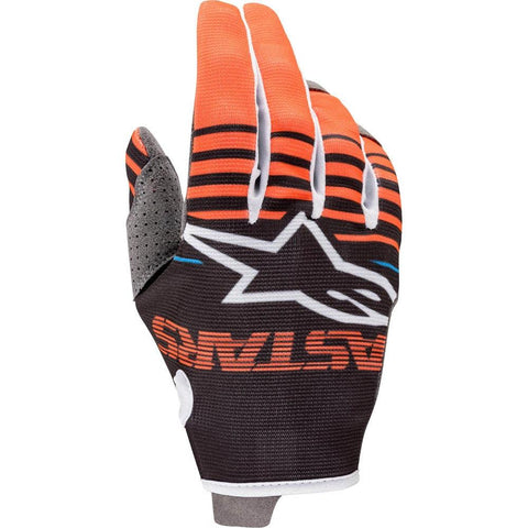 Alpinestars 2020 Radar Motocross Gloves - Anthracite/Orange Fluro