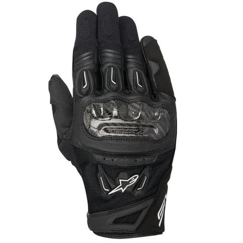 Alpinestars Gloves SMX 2 Air Carbon V2 Black - MotoHeaven