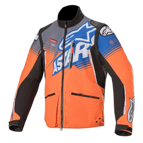 Alpinestars 2020 Venture R Jacket - Orange/Grey/Bright Blue