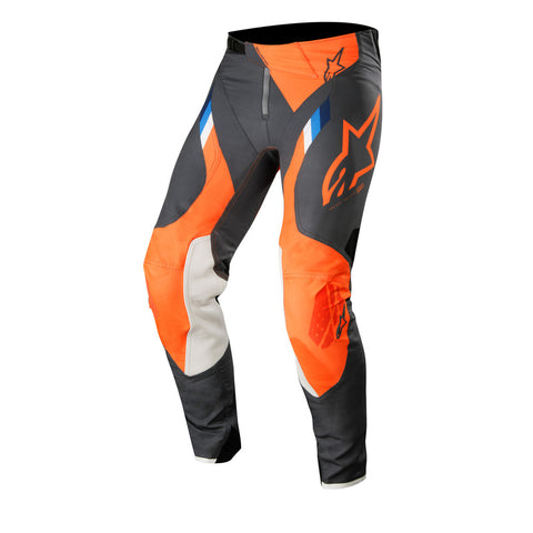 Alpinestars 2019 MX Supertech Pants - Anthracite/Fluro/Orange
