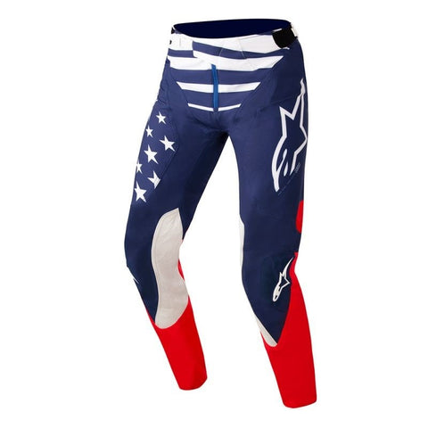 Alpinestars 2019 MX Supertech Union 18 Pants - Blue/Red/White